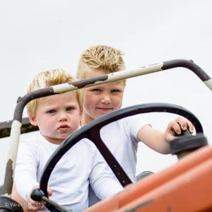 fotoshoot op de boerderij